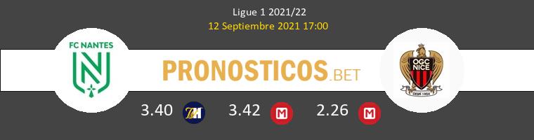 Nantes vs Niza Pronostico (12 Sep 2021) 1