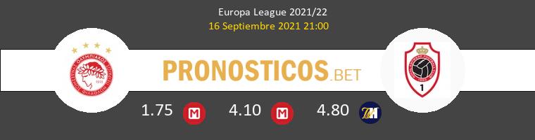Olympiacos Piraeus vs Antwerp Pronostico (16 Sep 2021) 1