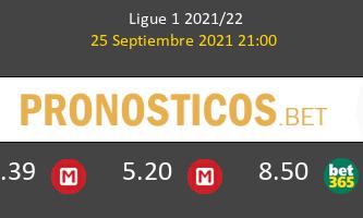 Lyon vs Lorient Pronostico (25 Sep 2021) 1
