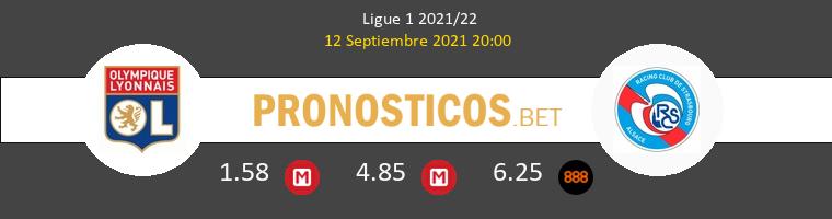 Olympique Lyonnais vs Strasbourg Pronostico (12 Sep 2021) 1