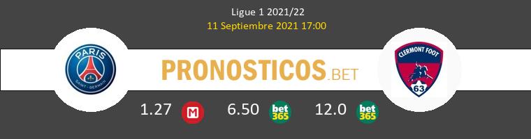 PSG vs Clermont Pronostico (11 Sep 2021) 1