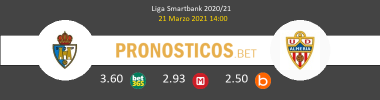 Ponferradina vs Almería Pronostico (12 Sep 2021) 1