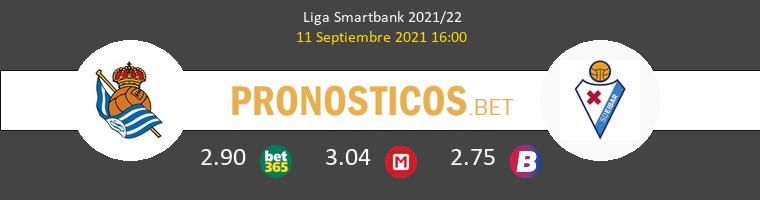 R. Sociedad B vs Eibar Pronostico (11 Sep 2021) 1