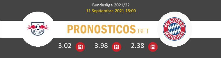 Red Bull Leipzig vs Bayern Munchen Pronostico (11 Sep 2021) 1