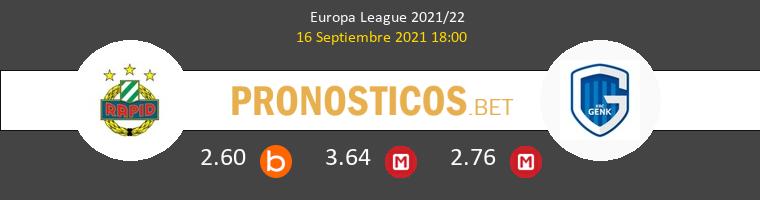 Rapid Wien vs Genk Pronostico (16 Sep 2021) 1