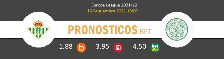 Real Betis vs Celtic Pronostico (16 Sep 2021) 1
