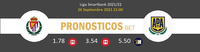 Real Valladolid vs Alcorcón Pronostico (26 Sep 2021) 1