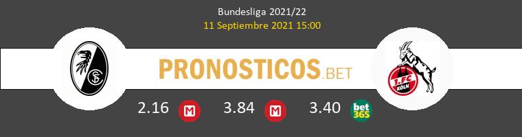 SC Freiburg vs Koln Pronostico (11 Sep 2021) 1