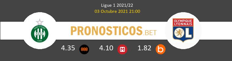 SaintvÉtienne vs Olympique de Lyon Pronostico (3 Oct 2021) 1