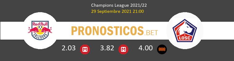 Salzburg vs Lille Pronostico (29 Sep 2021) 1