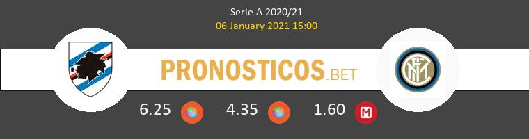 Sampdoria vs Inter Pronostico (12 Sep 2021) 1
