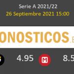 Sassuolo vs Salernitana Pronostico (26 Sep 2021) 6