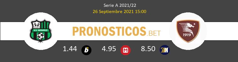 Sassuolo vs Salernitana Pronostico (26 Sep 2021) 1