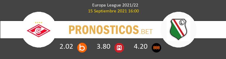 Spartak Moskva vs Legia Warszawa Pronostico (15 Sep 2021) 1
