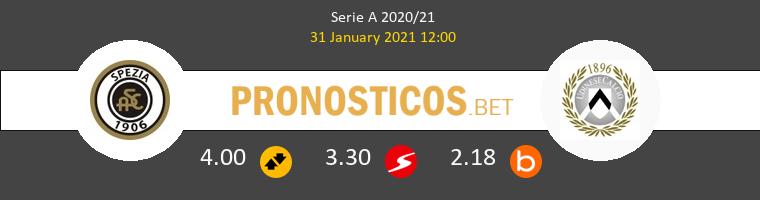 Spezia vs Udinese Pronostico (12 Sep 2021) 1