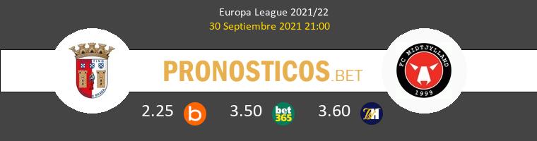 Sporting Braga vs Midtjylland Pronostico (30 Sep 2021) 1