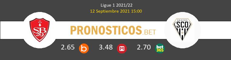 Stade Brestois vs Angers SCO Pronostico (12 Sep 2021) 1
