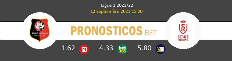 Stade Rennais vs Stade de Reims Pronostico (12 Sep 2021) 1