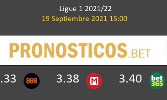 Reims vs Lorient Pronostico (19 Sep 2021) 1