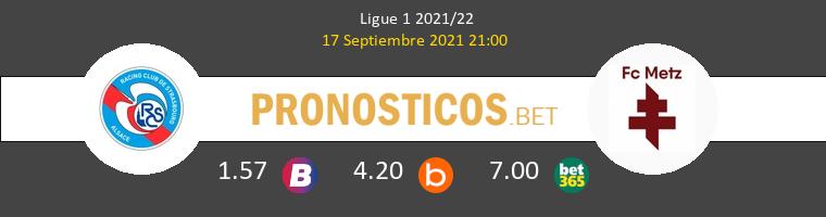 Estrasburgo vs Metz Pronostico (17 Sep 2021) 1