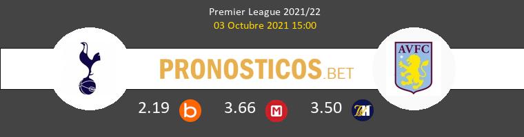 Tottenham Hotspur vs Aston Villa Pronostico (3 Oct 2021) 1