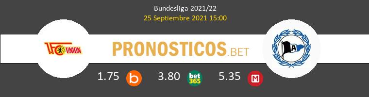 Union Berlin vs Arminia Bielefeld Pronostico (25 Sep 2021) 1