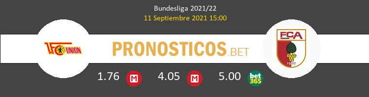 Union Berlin vs FC Augsburgo Pronostico (11 Sep 2021) 1