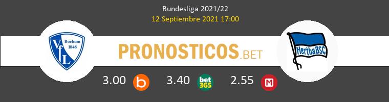 VfL Bochum vs Hertha Berlín Pronostico (12 Sep 2021) 1