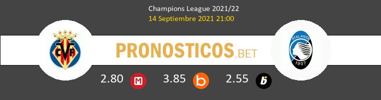 Villarreal vs Atalanta Pronostico (14 Sep 2021) 1