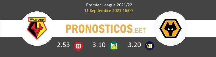 Watford vs Wolverhampton Pronostico (11 Sep 2021) 1