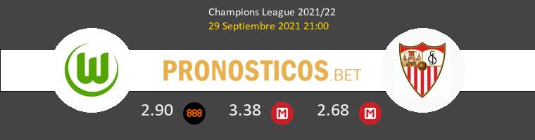 Wolfsburg vs Sevilla Pronostico (29 Sep 2021) 1