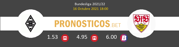 B. Mönchengladbach vs Stuttgart Pronostico (16 Oct 2021) 1