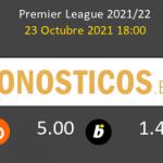 Brighton & Hove Albion vs Manchester City Pronostico (23 Oct 2021) 5