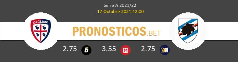 Cagliari vs Sampdoria Pronostico (17 Oct 2021) 1