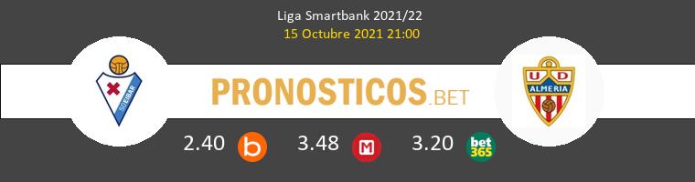 Eibar vs Almería Pronostico (15 Oct 2021) 1