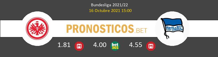 Eintracht Frankfurt vs Hertha Berlín Pronostico (16 Oct 2021) 1