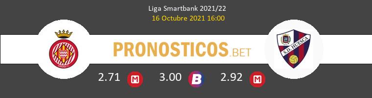 Girona vs Huesca Pronostico (16 Oct 2021) 1