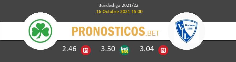 Greuther Fürth vs VfL Bochum Pronostico (16 Oct 2021) 1