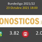 Hertha Berlin vs B. Mönchengladbach Pronostico (23 Oct 2021) 5
