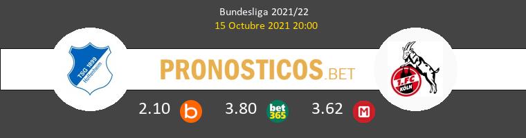 Hoffenheim vs Koln Pronostico (15 Oct 2021) 1
