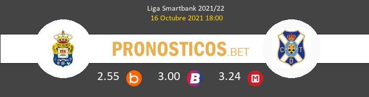 Las Palmas vs Tenerife Pronostico (16 Oct 2021) 1