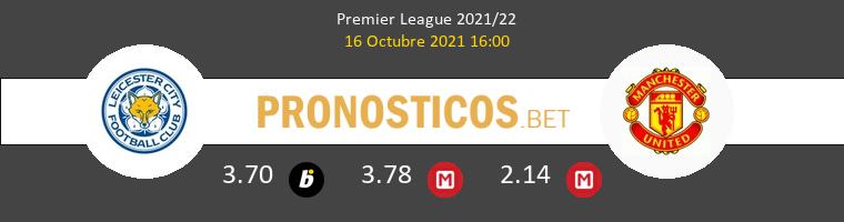 Leicester vs Manchester United Pronostico (16 Oct 2021) 1