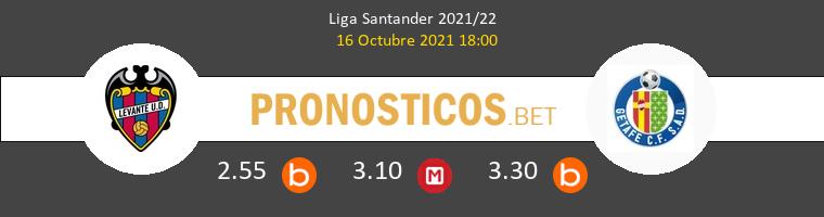 Levante vs Getafe Pronostico (16 Oct 2021) 1