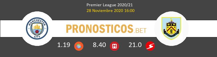 Manchester City vs Burnley Pronostico (16 Oct 2021) 1