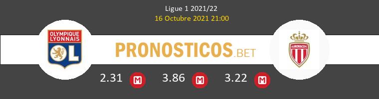 Lyon vs Monaco Pronostico (16 Oct 2021) 1