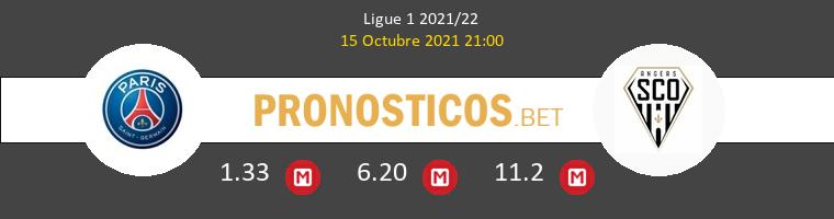 Paris Saint Germain vs Angers SCO Pronostico (15 Oct 2021) 1