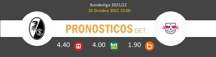 SC Freiburg vs Red Bull Leipzig Pronostico (16 Oct 2021) 1