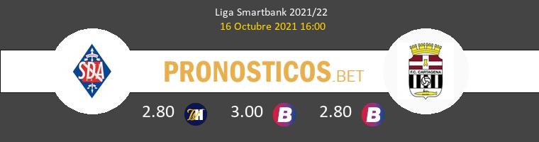 SD Amorebieta vs F.C. Cartagena Pronostico (16 Oct 2021) 1