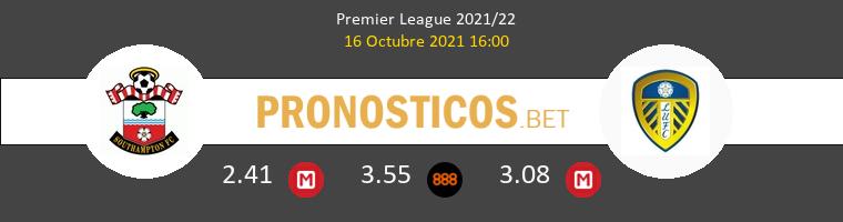 Southampton vs Leeds United Pronostico (16 Oct 2021) 1