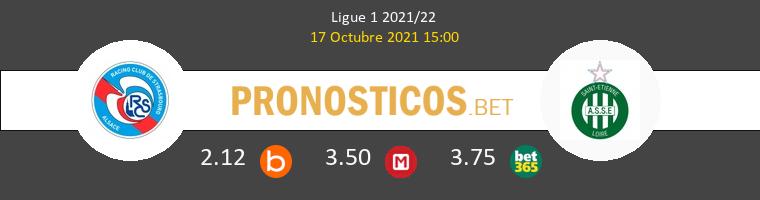 Estrasburgo vs SaintvÉtienne Pronostico (17 Oct 2021) 1